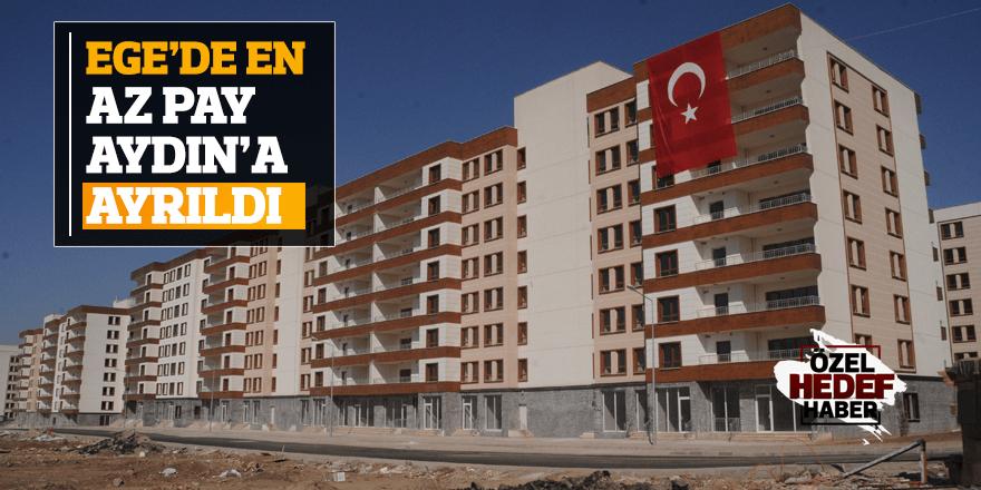 TOKİ Aydın'ı yok saydı!