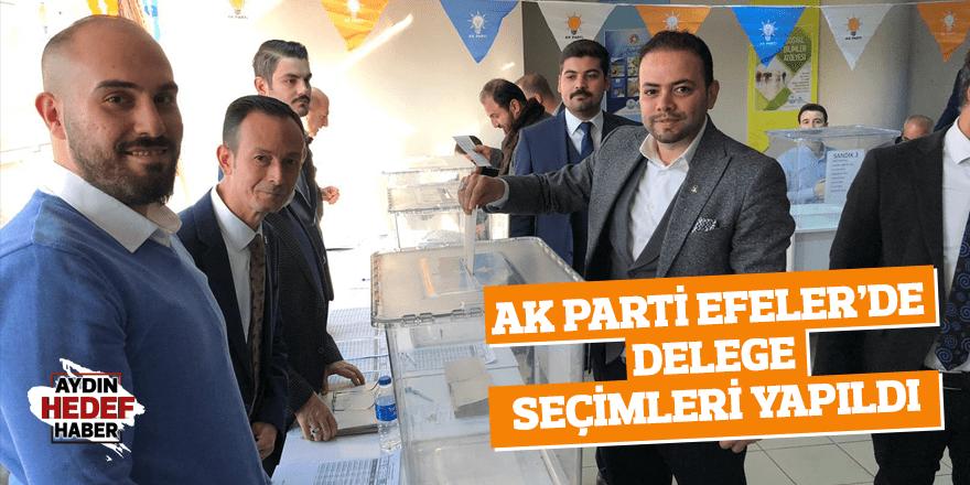 AK Parti Efeler'de delege seçimleri yapıldı
