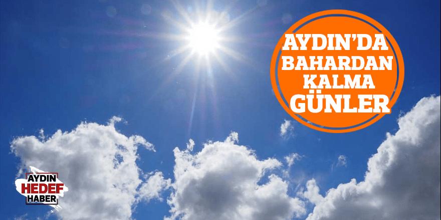 Aydın'da bahardan kalma günler