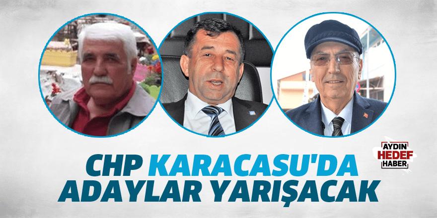 CHP Karacasu'da adaylar yarışacak