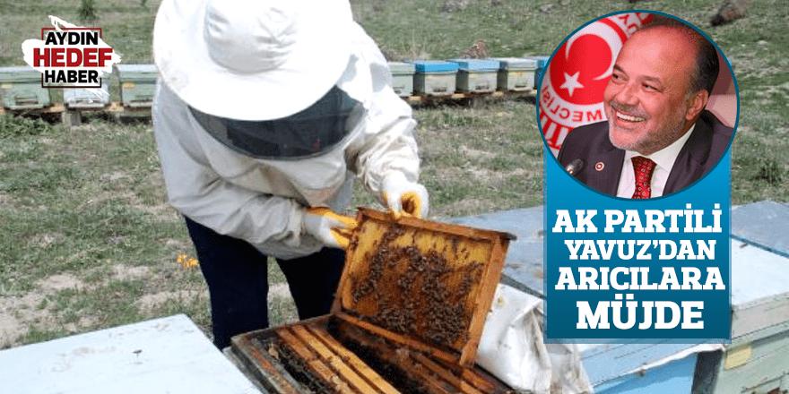 AK Partili Yavuz'dan arıcılara müjde