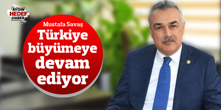 Mustafa Savaş: Türkiye büyümeye devam ediyor