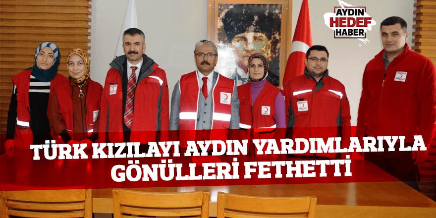 Türk Kızılayı Aydın yardımlarıyla gönülleri fethetti