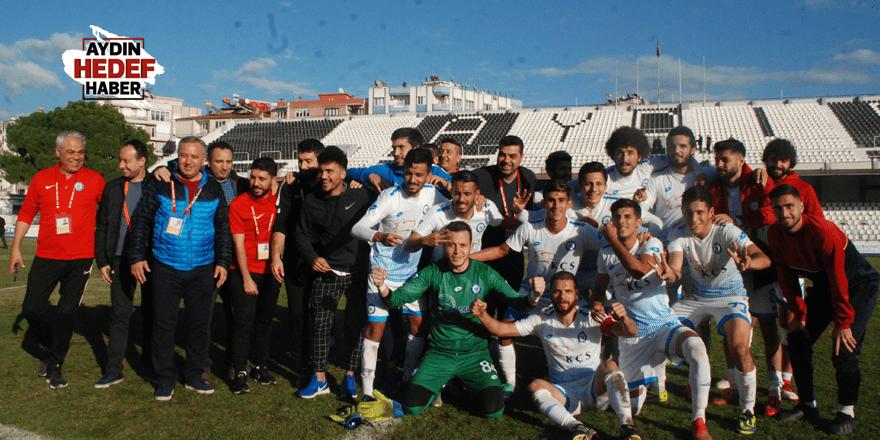 Menderes'te hazırlık maçı