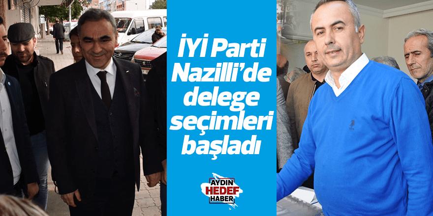 İYİ Parti Nazilli'de delege seçimleri başladı