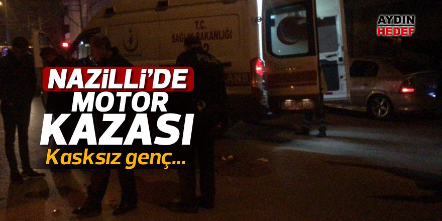 Nazilli'de motor kazası