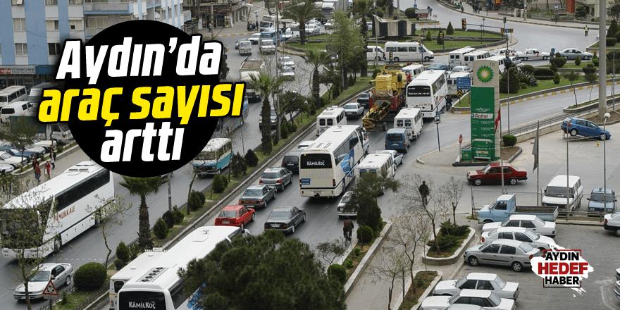 Aydın'da araç sayısı 456 bin 112'ye ulaştı