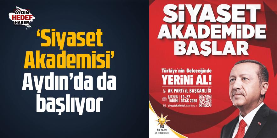 AK Parti 'Siyaset Akademisi' Aydın'da da başlıyor