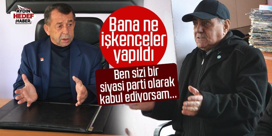 Karacasulu eski başkan içini döktü