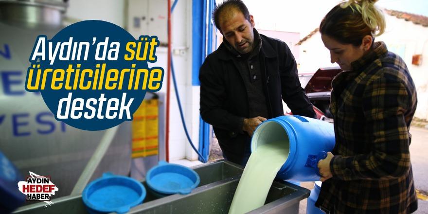 Çerçioğlu'ndan süt üreticilerine destek