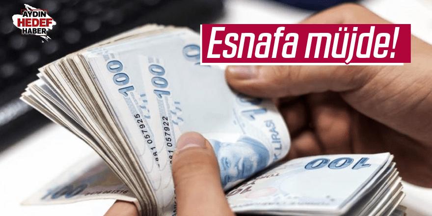 Esnafa 'faiz indirimi' müjdesi