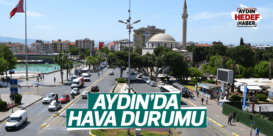 Aydın'da hava durumu