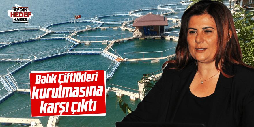 Çerçioğlu, 'Balık Çiftlikleri' kurulmasına karşı çıktı