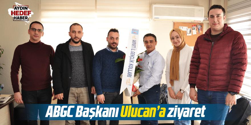 AK Gençlerden ABGC Başkanı Ulucan'a ziyaret