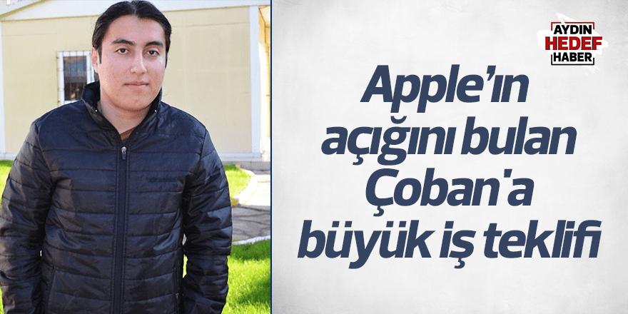 Apple'ın açığını bulan Çoban'a Amazon'dan iş teklifi