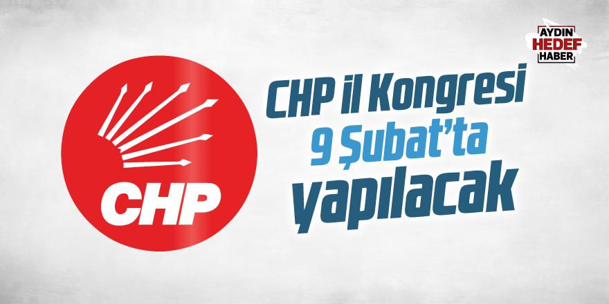 CHP İl Kongresi 9 Şubat'ta yapılacak