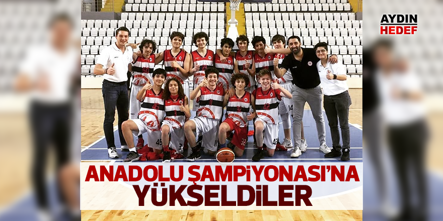 Anadolu Şampiyonası'na yükseldiler