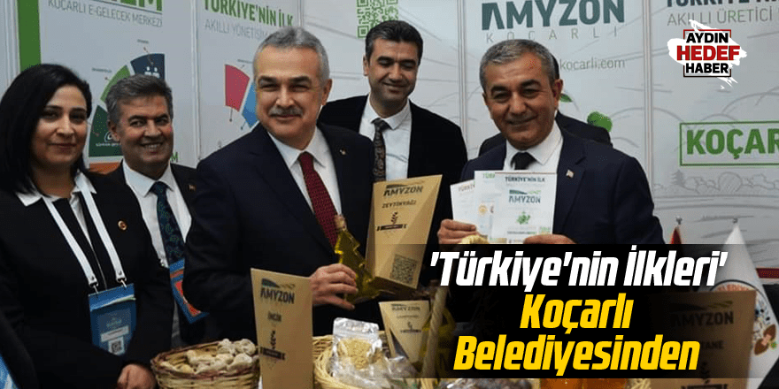 'Türkiye'nin İlkleri' Koçarlı Belediyesinden