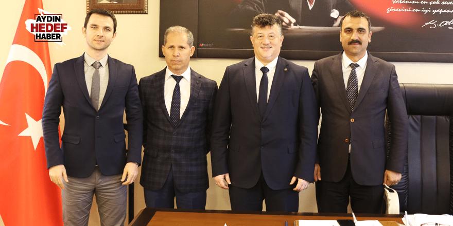 Başkanlar Fillikçioğlu'nu ziyaret etti