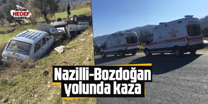 İki otomobil şarampole uçtu: 3 yaralı