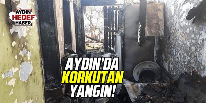 Kuyucak'taki yangın az daha can alıyordu