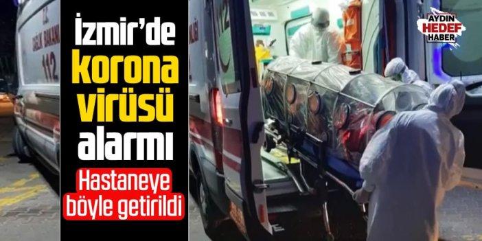 İzmir'de korana virüsü şüphesi