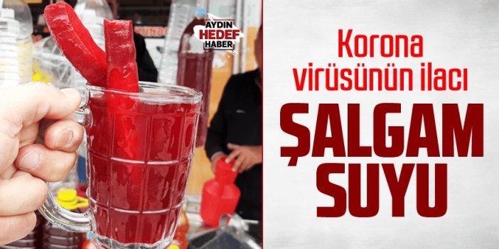 Korona Virüsün ilacı şalgam suyu