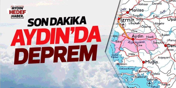 Aydın'da gece yarısı deprem paniği