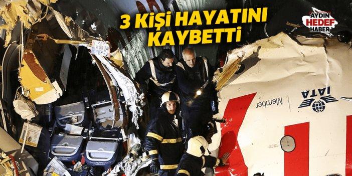 Uçak kazasında 3 kişi öldü