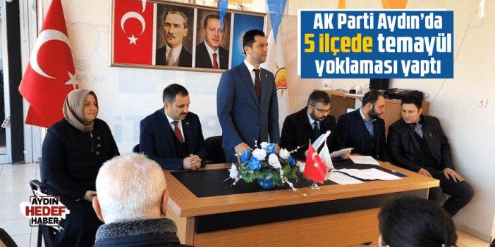AK Parti Aydın'da 5 ilçede temayül yoklaması yaptı