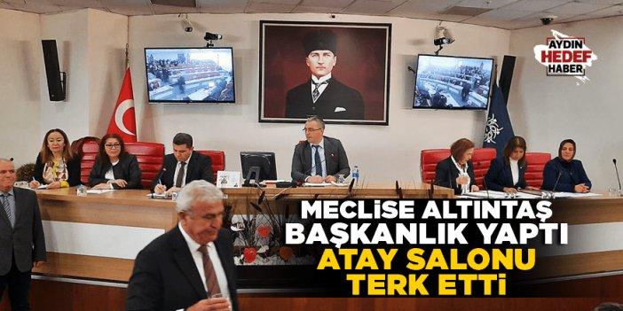 Fatih Atay meclisi terk etti
