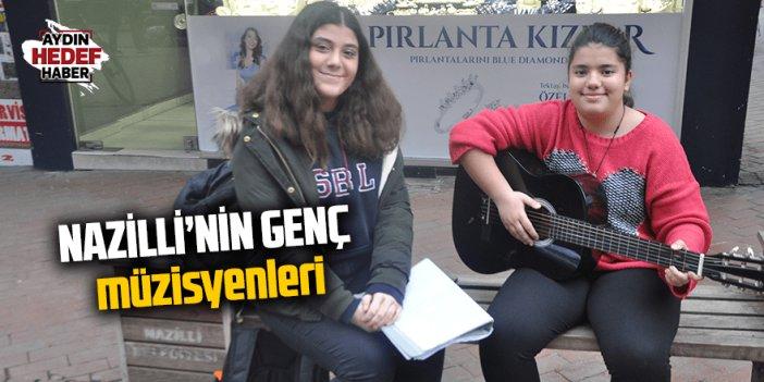 Nazilli Uzun Çarşı'nın genç müzisyenleri