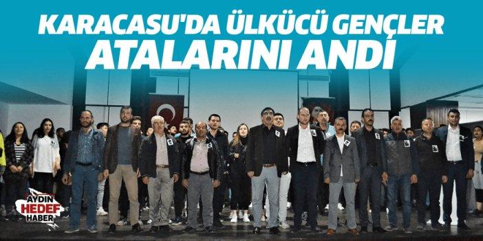 Karacasu'da Ülkücü gençler Atalarını andı