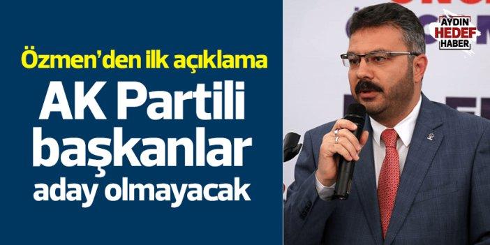 AK Parti'de 3 ilçe başkanı kongrelerde aday olmayacak
