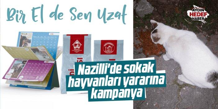 Nazilli'de sokak hayvanları yararına takvim kampanyası