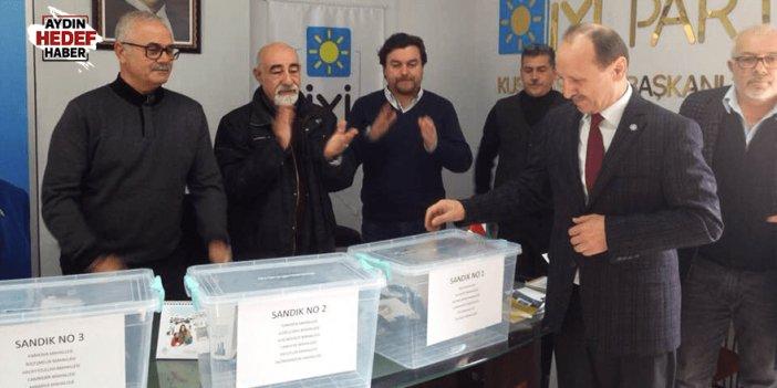İYİ Parti Aydın'da delege seçimleri yapıldı