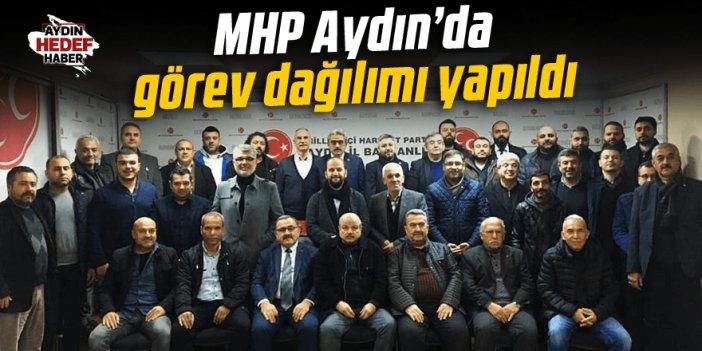 MHP Aydın'da görev dağılımı yapıldı