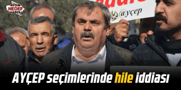 AYÇEP Seçimlerinde hile iddiası