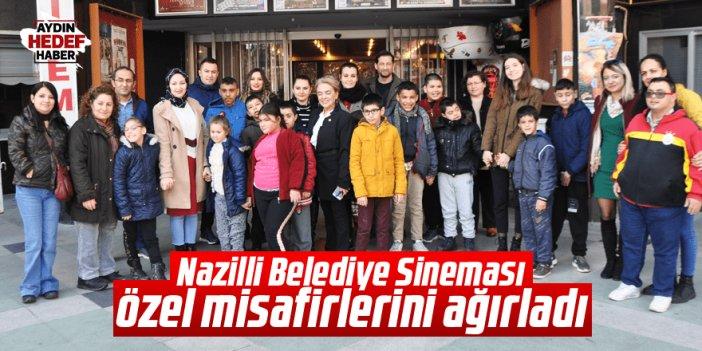 Nazilli Belediye Sineması özel misafirlerini ağırladı