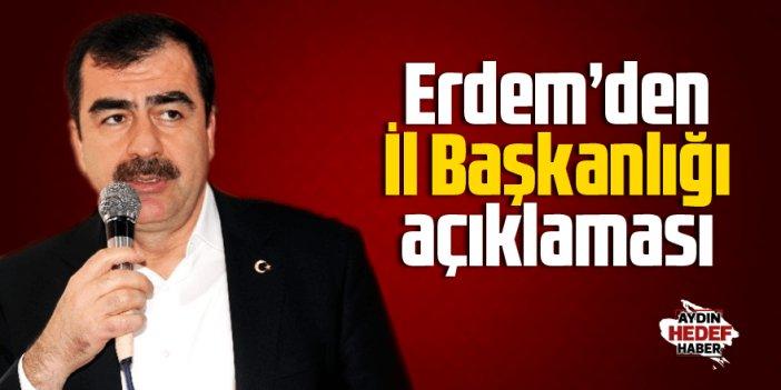 """AK Parti İl Başkanı olmayı istemiyorum"""