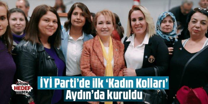 İYİ Parti'de ilk 'Kadın Kolları' Aydın'da kuruldu